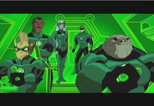 green lantern le complot